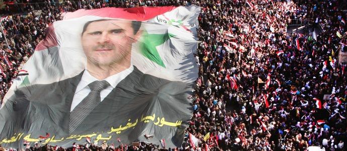 SyriaAssadCrowd
