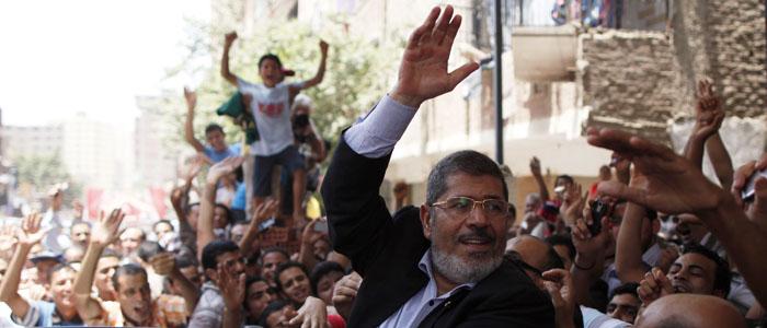 President-elect Mohamed Morsi