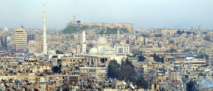 A general view of Aleppo city in Syria on Friday, March 17 2006. (AP