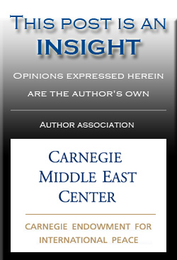 insight carnegie mec INSIGHT: Iraq's Tensions Heightened by Syria Conflict