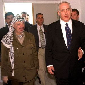 reu netanyahu arafat 300 28feb13 QUICKTAKE: Israeli Palestinian Peace During Obama's 2nd Term?