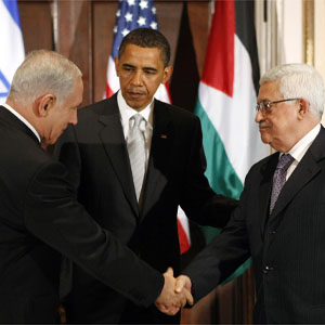 reu trio2 300 28feb13 QUICKTAKE: Israeli Palestinian Peace During Obama's 2nd Term?