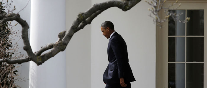US President Barack Obama is seen walking outside of the White House. (Reuters file)