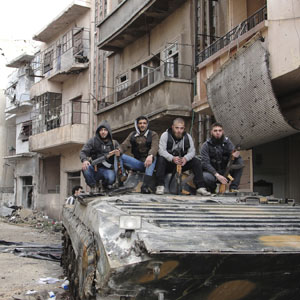 reu syria rebels hof2 300 10apr13 QUICKTAKE: US Syria Policy Needs 'Paradigm Shift'