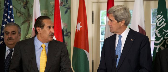 John Kerry, Hamad bin Jassim bin Jabr Al-Thani