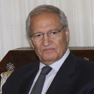 Syrian Vice President Farouk al-Sharaa is seen in Damascus in an August  26, 2012, file photo. (AP)